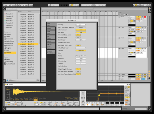 Schnupp2 Theme for Ableton 10 by Michael Verhovec
