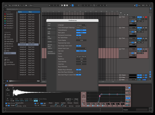 Best theme fro metal Theme for Ableton 10 by WILL dempster