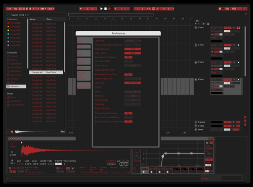 VerSupremeRedxx Theme for Ableton 10 by red hood