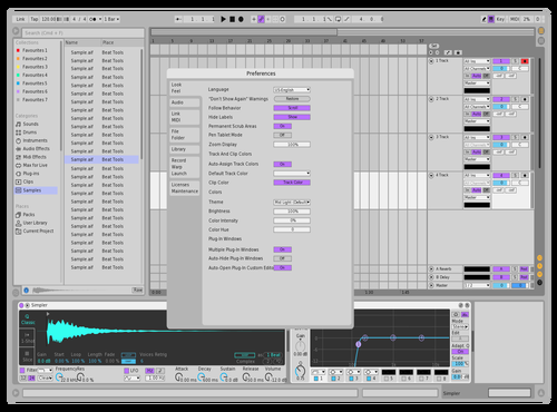 Prodreams DubLight Theme for Ableton 10 by Anuj