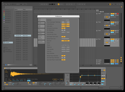 TEST Theme for Ableton 10 by yoo