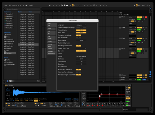 Alex wolf - Dark Theme for Ableton 10 by ilja jakovliev