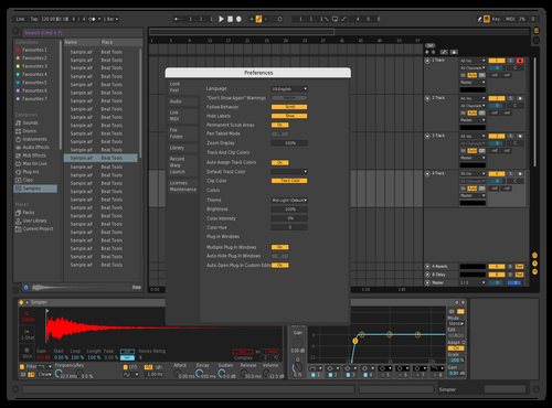 German Theme for Ableton 10 by German