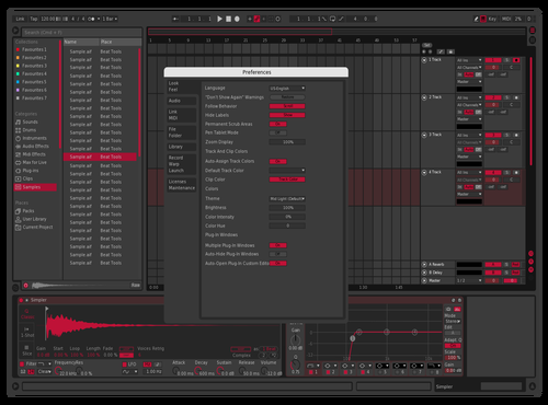 Grid fixed Theme for Ableton 10 by Keidro