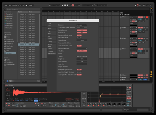 Daan1 Theme for Ableton 10 by Daan