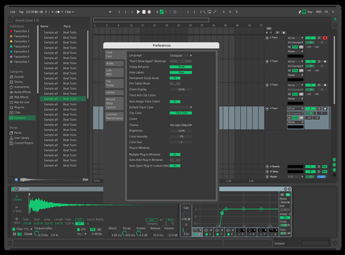 Greeny V2.1 Theme for Ableton 10 by Arypa