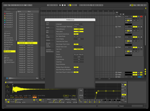 Glitch Theme for Ableton 10 by CryoniK