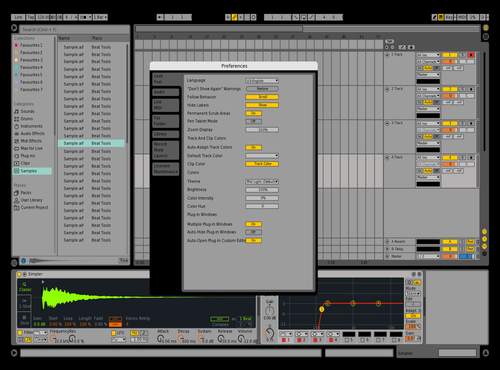 Orignal Theme for Ableton 10 by Elijah Gasataya
