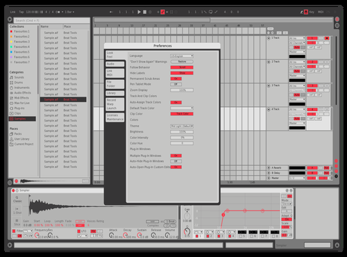 MRED1 Theme for Ableton 10 by david