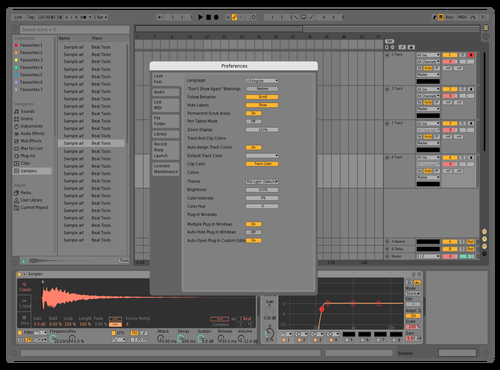 Ooo Theme for Ableton 10 by harris