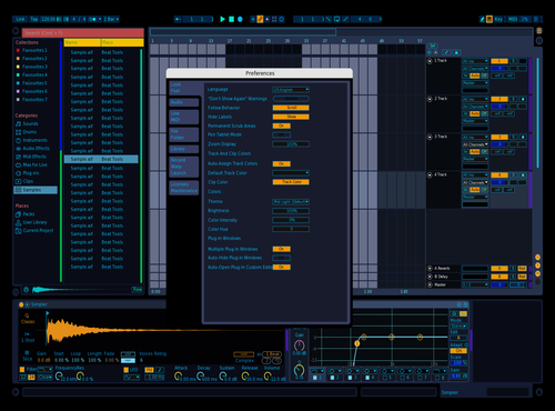 This is under construction. Theme for Ableton 10 by Snaut