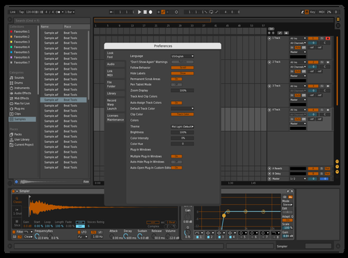 Flame Theme for Ableton 10 by Theophilus Adjei
