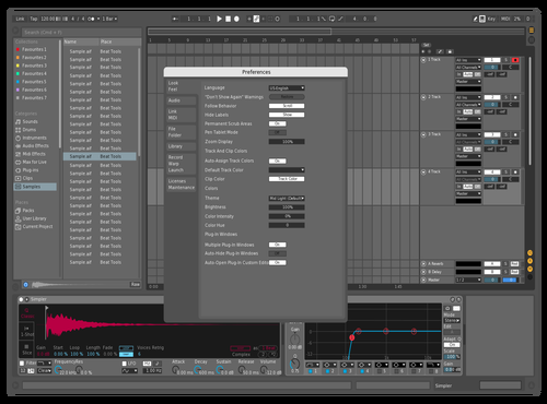 Maxim1 Theme for Ableton 10 by maxim