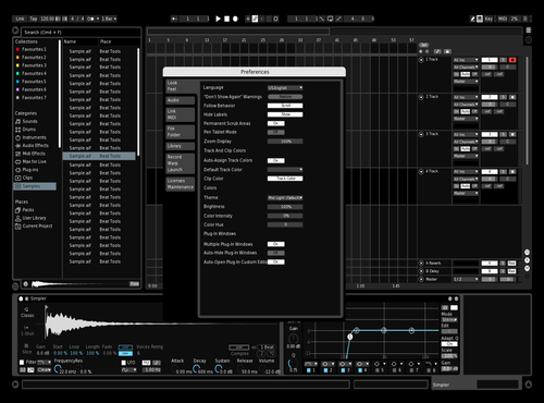 Darkzz Theme for Ableton 10 by mehrshad