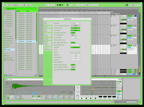 The gate tours Theme for Ableton 10 by Fletcher Hendrickson