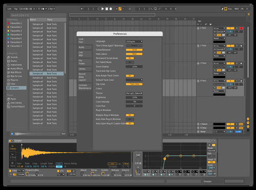 MidDarkVar Theme for Ableton 10 by Pan