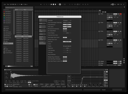 Monochrome Mod Theme for Ableton 10 by nklz