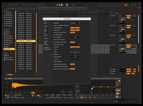 Deepdarkorange Theme for Ableton 10 by aaza