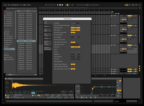 Galactiv Theme for Ableton 10 by Galactiv Music