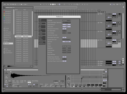Kristoblack Theme for Ableton 10 by kristo