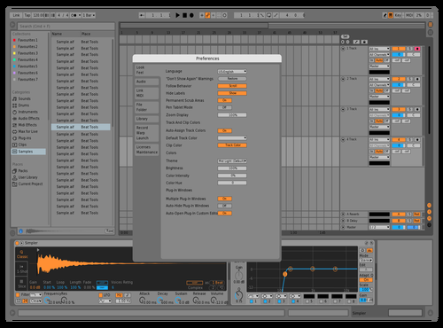 Mid light rough Theme for Ableton 10 by Reaver