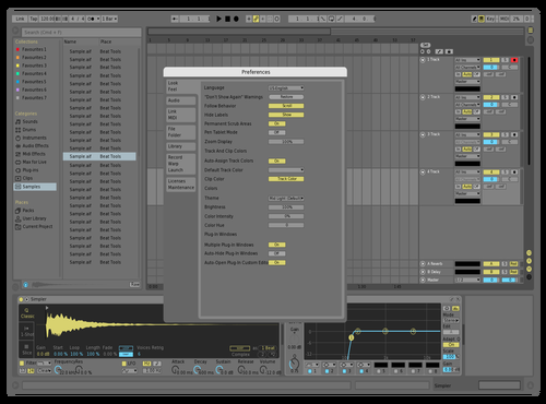 Light Desaturate test Theme for Ableton 10 by DRstelth