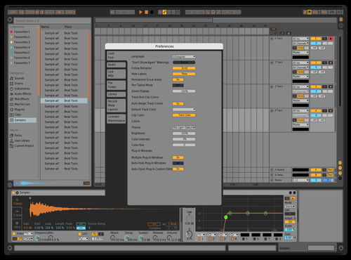 Bitwig Theme for Ableton 10 by Luis