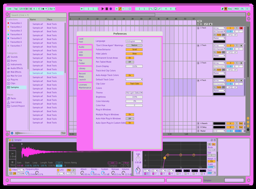 RawrXD Theme for Ableton 10 by Adam Nellemann