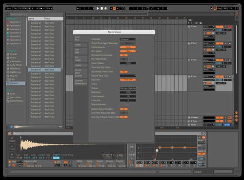 MDark2 Theme for Ableton 10 by david