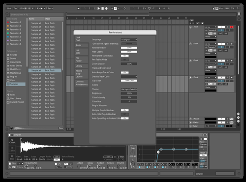 White Theme for Ableton 10 by Evitt Orchard
