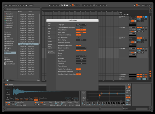 Observatory Theme for Ableton 10 by Reaver