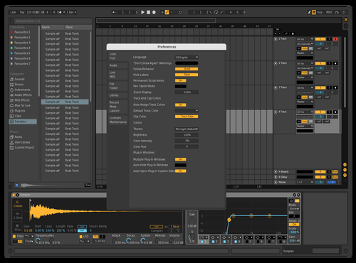 Dark_theme-more-grid Theme for Ableton 10 by cccc