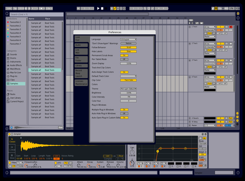 Live 8 ish Theme for Ableton 10 by Reach