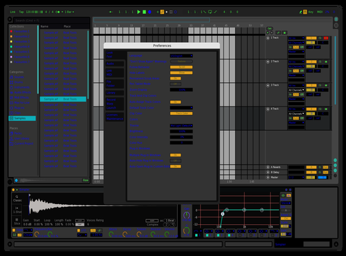 Another remix Theme for Ableton 10 by Zed