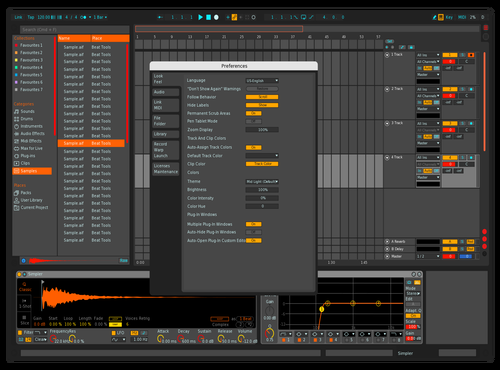 Leocel 808 III Theme for Ableton 10 by Leocel