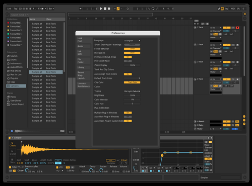 Dark2 Theme for Ableton 10 by delvix