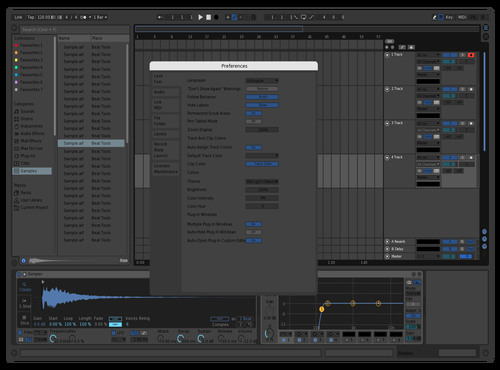 Nice Theme Theme for Ableton 10 by icare