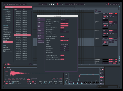 Dark Pastel Theme for Ableton 10 by micdig23