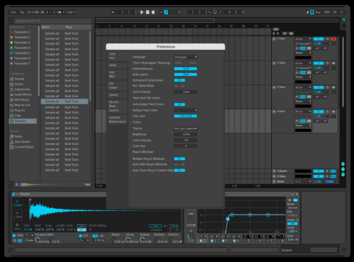 TRON 2 Theme for Ableton 10 by Luminari