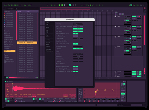 Neon Theme for Ableton 10 by Bennie J Acosta