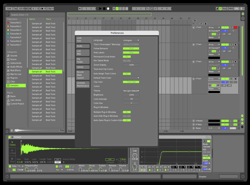 R10 remixed Theme for Ableton 10 by Conor Moran