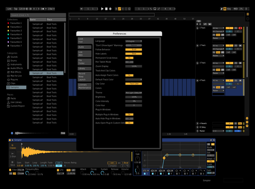 Full black Theme for Ableton 10 by ItsMelo