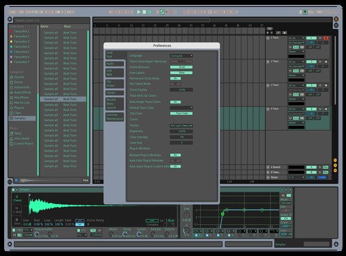 GREEN Theme for Ableton 10 by nobots