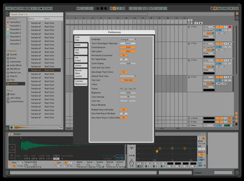 BOOM Theme Theme for Ableton 10 by hamza