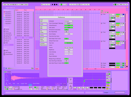 OMORI Theme for Ableton 10 by Malaxia
