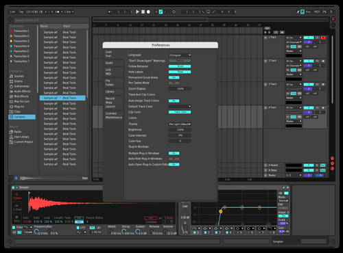 Neon Theme for Ableton 10 by Ashlesh Paranjape