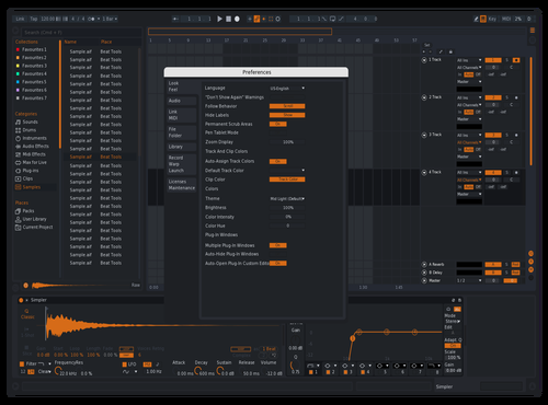 Orange redux Theme for Ableton 10 by oreo4k