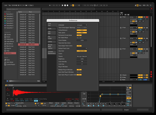 Redish Theme for Ableton 10 by Leo Prusi