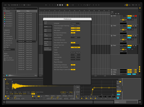 Tema Theme for Ableton 10 by heity89