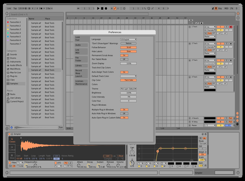 Balance Theme for Ableton 10